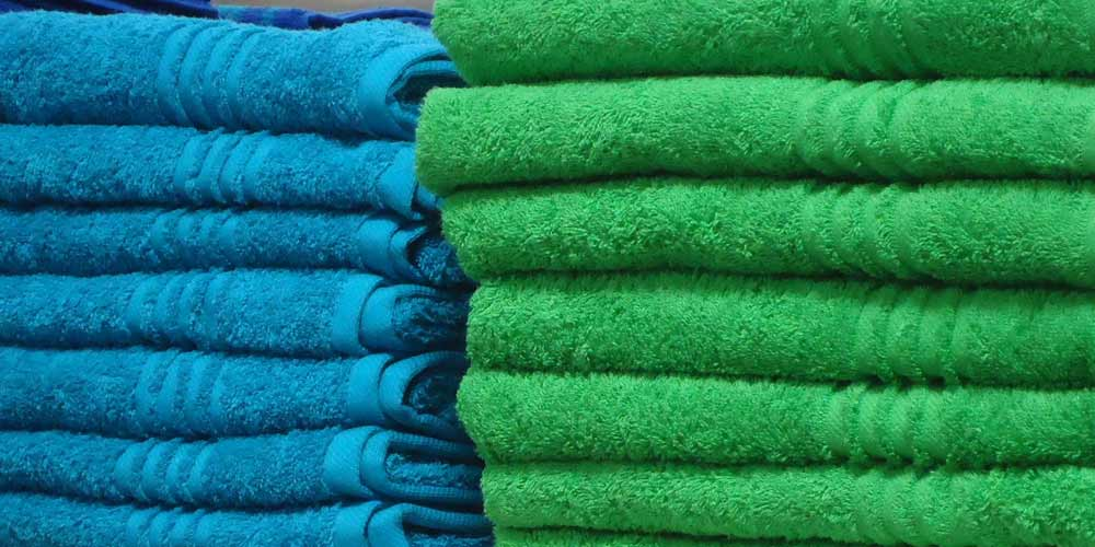asciugamani lavati stirati
