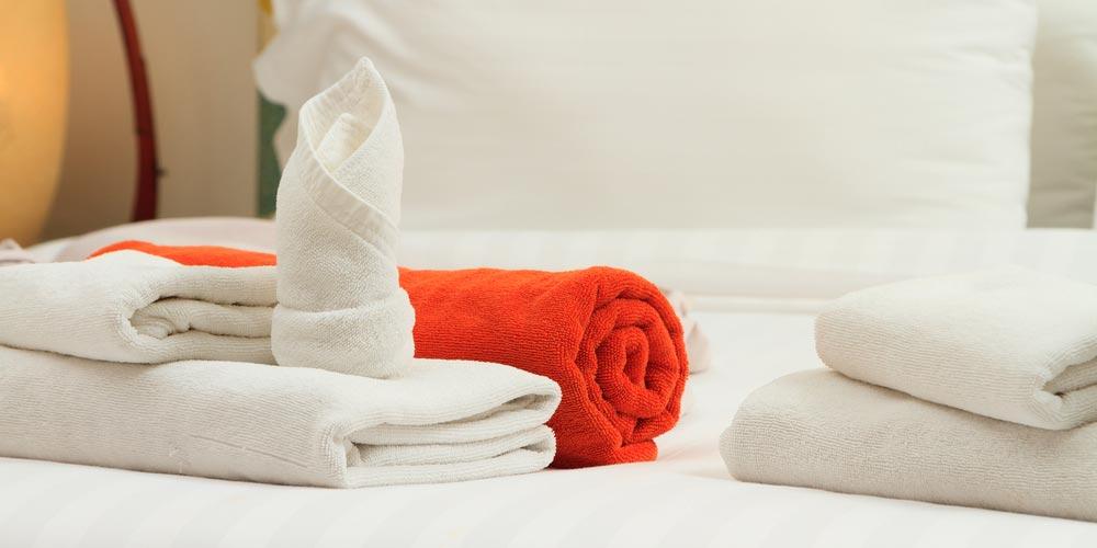 asciugamani lenzuola hotel