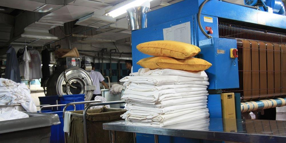 lavaggio industriale biancheria